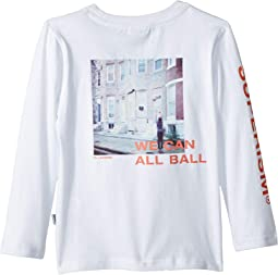 All Ball Long Sleeve Graphic Tee (Toddler/Little Kids/Big Kids)