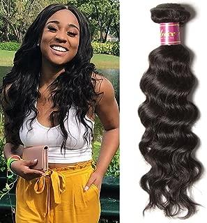 Unice 8a Grade Brazilian Natural Wave 1 bundle Virgin Human Hair Extensions Weave Natural Color (20inch)
