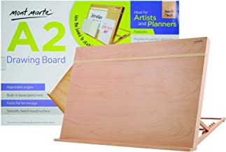 Mont Marte Drawing Board/Easel with Elastic Band A2