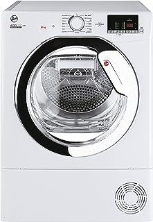 Hoover HLE H10A2DCEX-84 Wärmepumpentrockner / 10 kg / Smarte Bedienung mit NFC-Technologie / AquaVision-Kondenswasserbehälter mit optischer Füllanzeige direkt im Bullauge / Deutsche Bedienblende