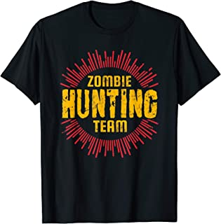 Zombie Hunting Team Halloween Zombies Costume T-Shirt
