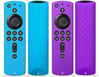 2Pack Remote Case Cover for Fir TV Stick 4K / Fir TV Cube/Fir TV (3rd Gen), SYMOTOP Anti Slip Silicone Remote Case Compati...