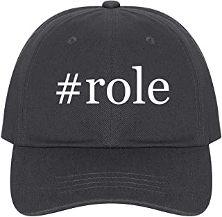 #Role - A Nice Comfortable Adjustable Hashtag Dad Hat Cap