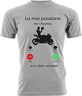 Motociclo Moto Da Corsa Maglietta