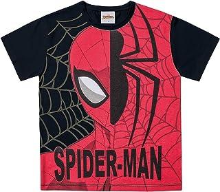 Camiseta em Meia Malha Spider-Man,  Fakini,  Meninos