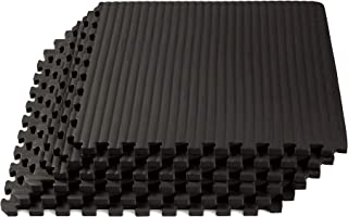 We Sell Mats Martial Arts & MMA Workout Mat, Tatami Pattern with EVA Foam, Interlocking Floor Tiles Tiles, Anti-Fatigue Support, 24 x 24 x 3/4 inch