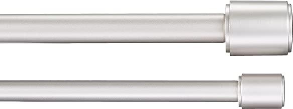AmazonBasics 1010754-411-A60 Double Curtain Rod, 72
