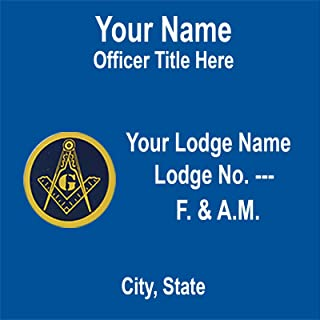 Best masonic name badges Reviews