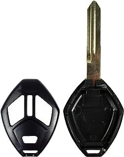 Qualitykeylessplus Reemplazo de la llave de la cabeza remota Caja de 3 botones y cuchilla para Mitsubishi FCC ID OUCG8D620MA o OUCG8D625MA