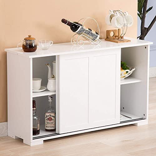 Kitchen Cabinets With Sliding Doors Amazon Com