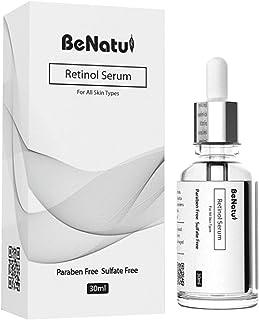 Retinol Serum – 2,5 % retinol hyaluronsyra anti-rynkbooster – anti-aging lift serum, för ansikte, dekolleté och kropp av B...