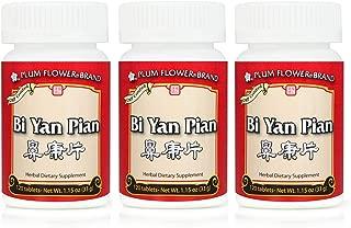 Bi Yan Pian, Nose Inflammation Pills, 120 Tablets (3 Pack)
