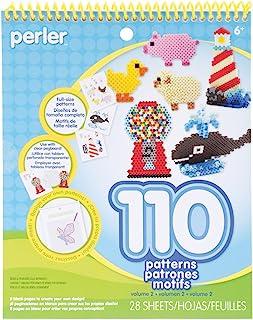 Perler Beads Patterns and Craft Idea Book, 28 pgs