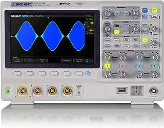 SIGLENT デジタルオシロスコープ 100MHz 4ch 200Mpts 10-bits 256階調フォスファ SDS2104X