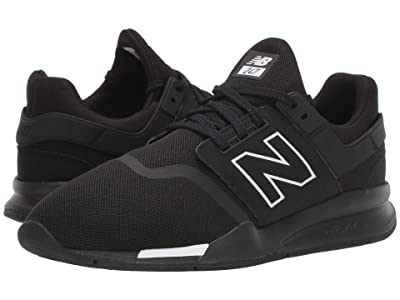 New Balance Classics 247v2 (Black/Munsell White Synthetic/Mesh) Men