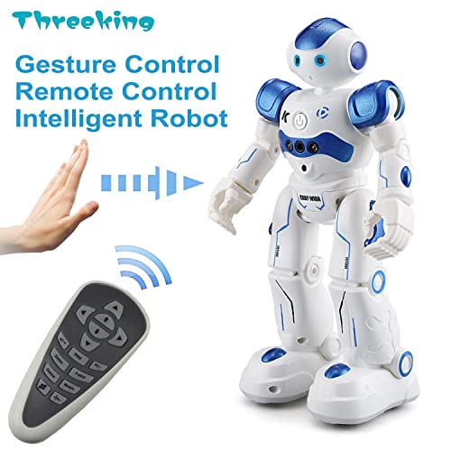 Threeking Smart Robot Toys Gesture Control Remote JJRC Gift For Boys Girls Kids