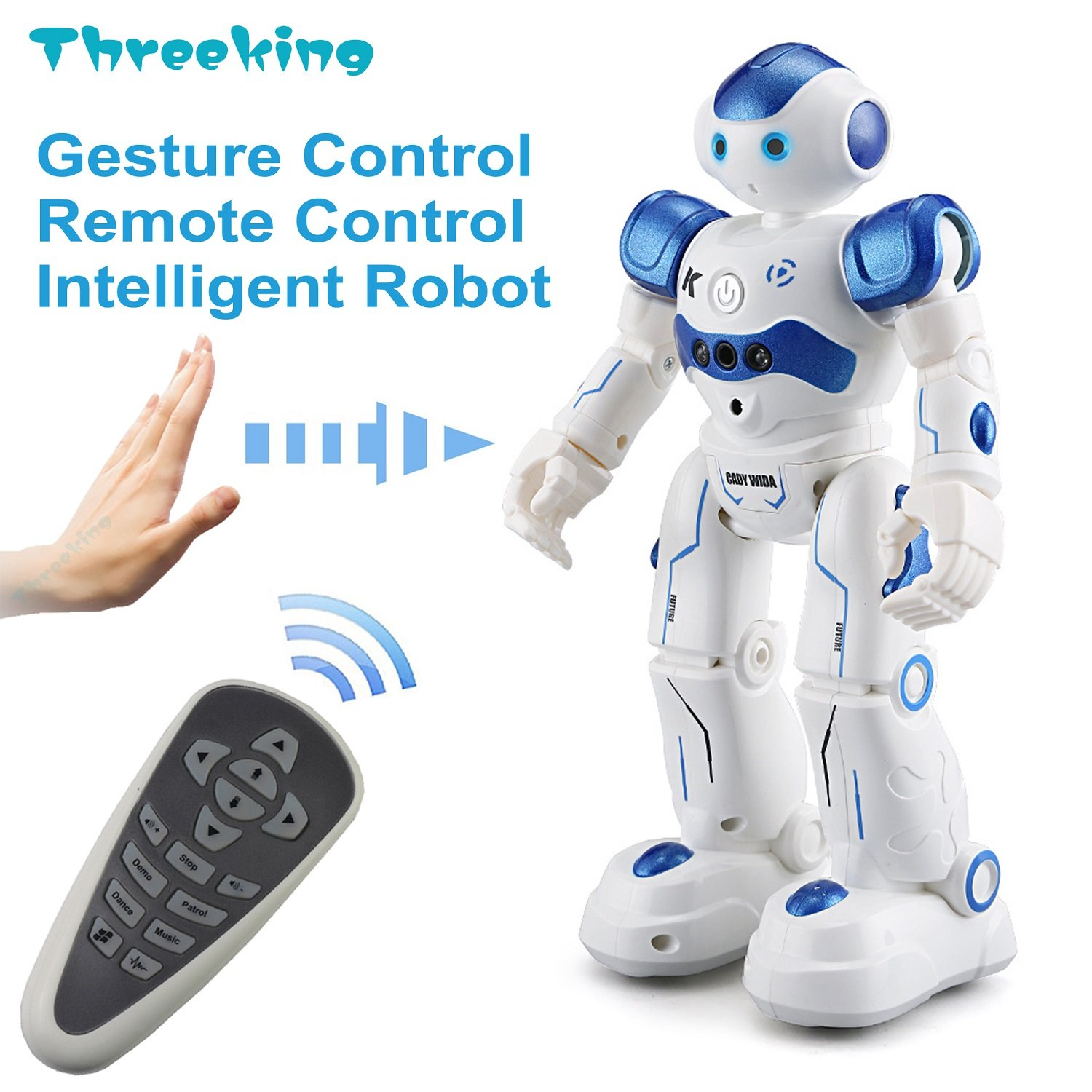 Threeking Smart Robot Toys Gesture Control Remote Control Robot JJRC Robot Gift for Boys Girls Kidu0027s  sc 1 st  Amazon.com & Birthday Gift for 11 Year Old Boy: Amazon.com