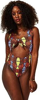 Women African Print Swimwear Ankara 2-Pieces Suit Swimwear