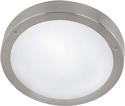 Eglo 94121Intérieur Lampe en Verre, Intégré, Blanc