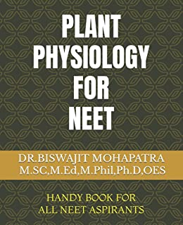 PLANT PHYSIOLOGY FOR NEET