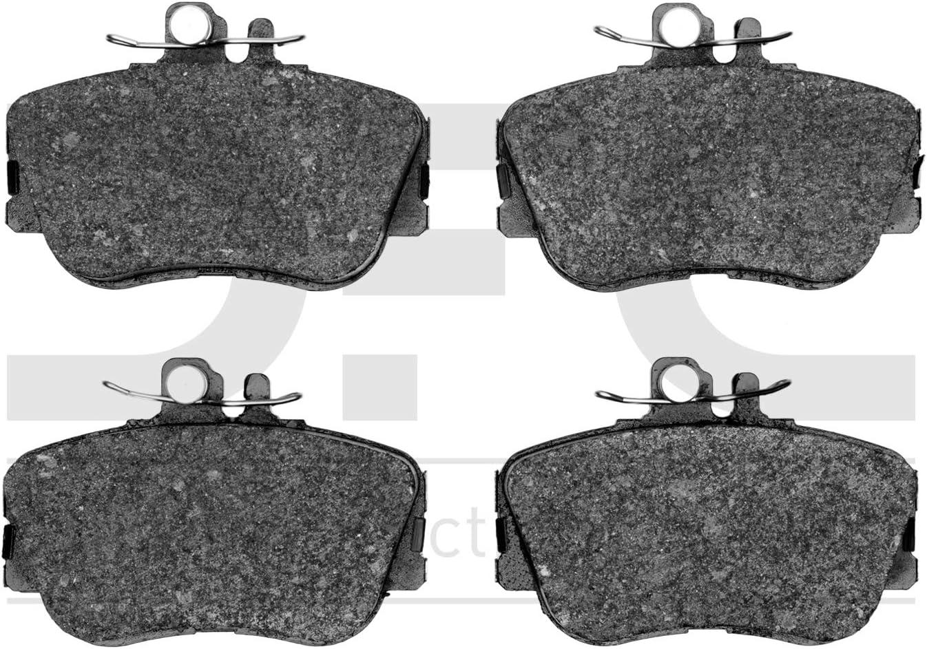 Dynamic Friction Company 5000 outlet Euro 1600-0645- Ceramic Brake unisex Pads