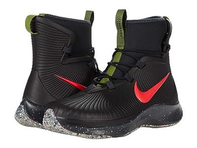 Nike Kids Binzie (Big Kid) (Black/Black/Off Noir/Bright Crimson) Kid