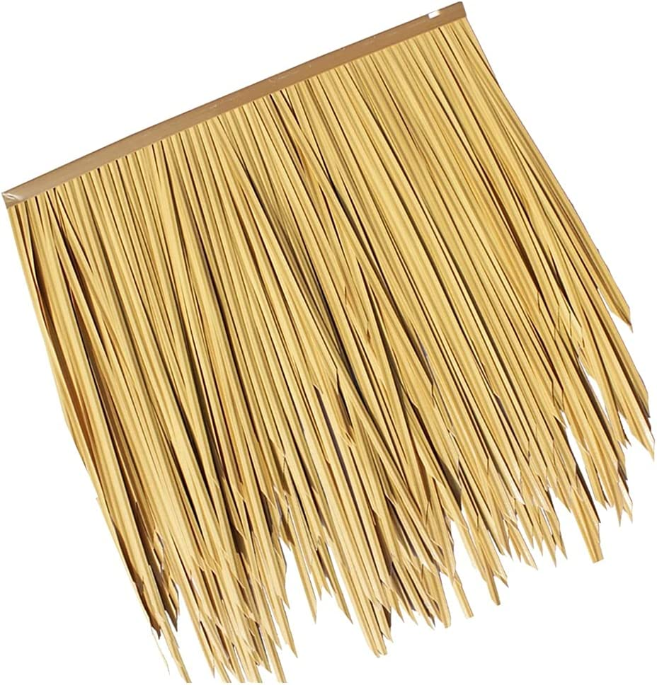 Thatch Plastic Fake Straw Project Simulation PVC Max 52% OFF Stra PE Indefinitely