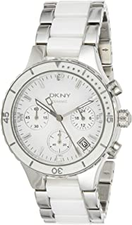 DKNY Quartz Movement For Women, Stainless Steel Band