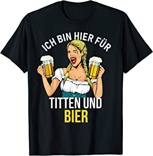 German Oktoberfest Beer Funny Sayings - Deutsch, Prost T-Shirt