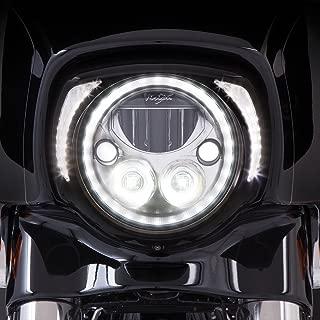 Ciro Fang LED Headlight Bezel Black for 2014-newer FLH 45201