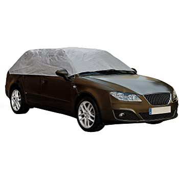 Tofern Half Size Waterproof Car Cover Top Winter Summer Car Cover XL Sedan