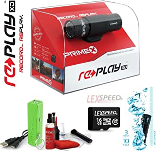 Replay XD Prime X Wi-Fi HD 16GB Micro SD Card Complete Action Video Camcorder Kit