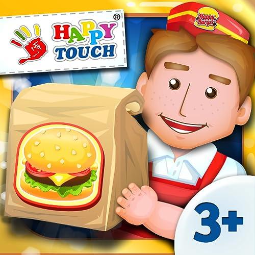 Drive-In-King - Burger Spiel für Kinder von Happy-Touch® Kinderspiele & Kinderapps Gratis