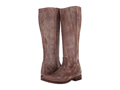 Frye Melissa Inside Zip Tall (Chocolate) Women