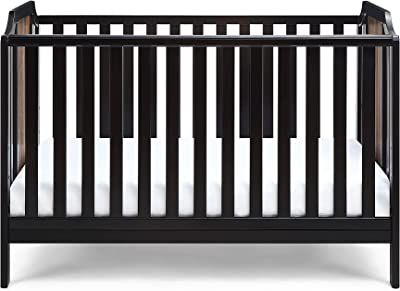 Suite Bebe Brees Convertible Island Crib in Black and Vintage Walnut