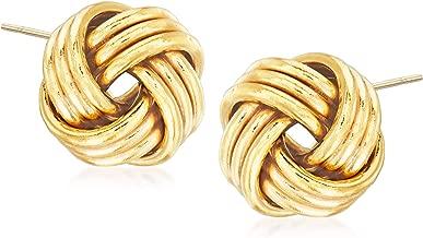 Best 14kt yellow gold earrings Reviews
