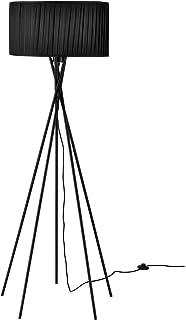 lux.pro] lampadaire - Black Mikado - (1 x Socle E27)(155 cm x Ø 48 cm) Lampe sur Pied Lampe de Plancher Lampe Lampe de Sal...