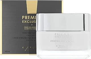 Dead Sea Mud Face cream Premier Dead Sea online Exclusive, natural formula, wrinkle reducer, anti aging, witch hazel, aloe vera, minerals, vitamins, nutrients, antioxidants 1.7FL.oz