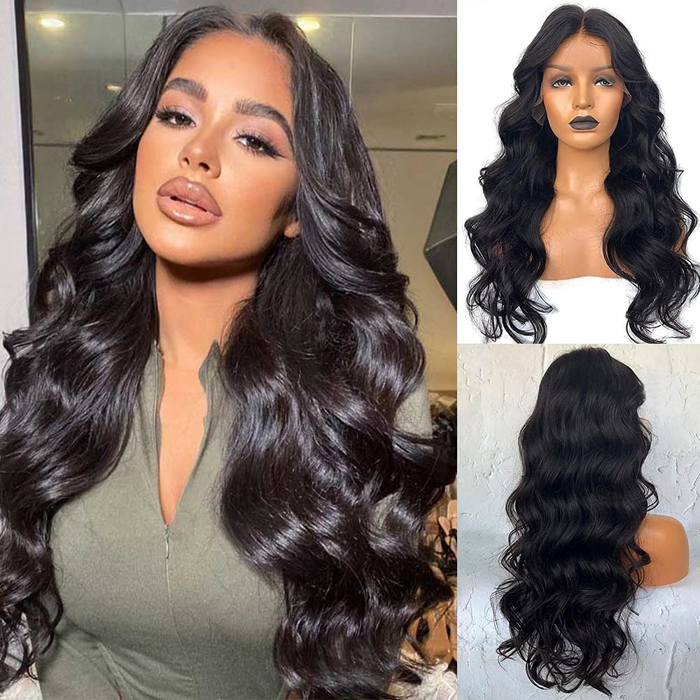 Long Straight Wigs Body Wave Wig Natural Directly Sacramento Mall managed store Wo Color For Black