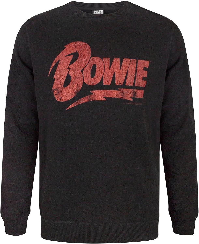 Amplified David Bowie Logo Men's Sweatshirt