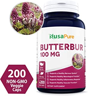 swanson superior herbs butterbur extract 75mg
