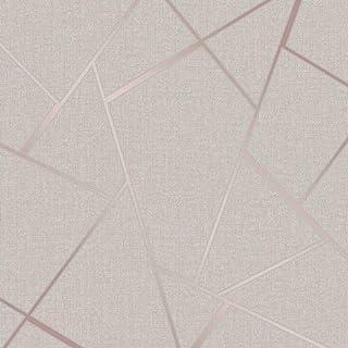 Fine Décor FD42282 kwarc fraktalny tapeta, różowe złoto