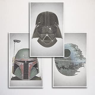star wars word art
