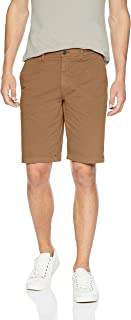 "Amazon Brand - Goodthreads Men's 11"" Inseam Flat-Front Comfort Stretch Chino Short"