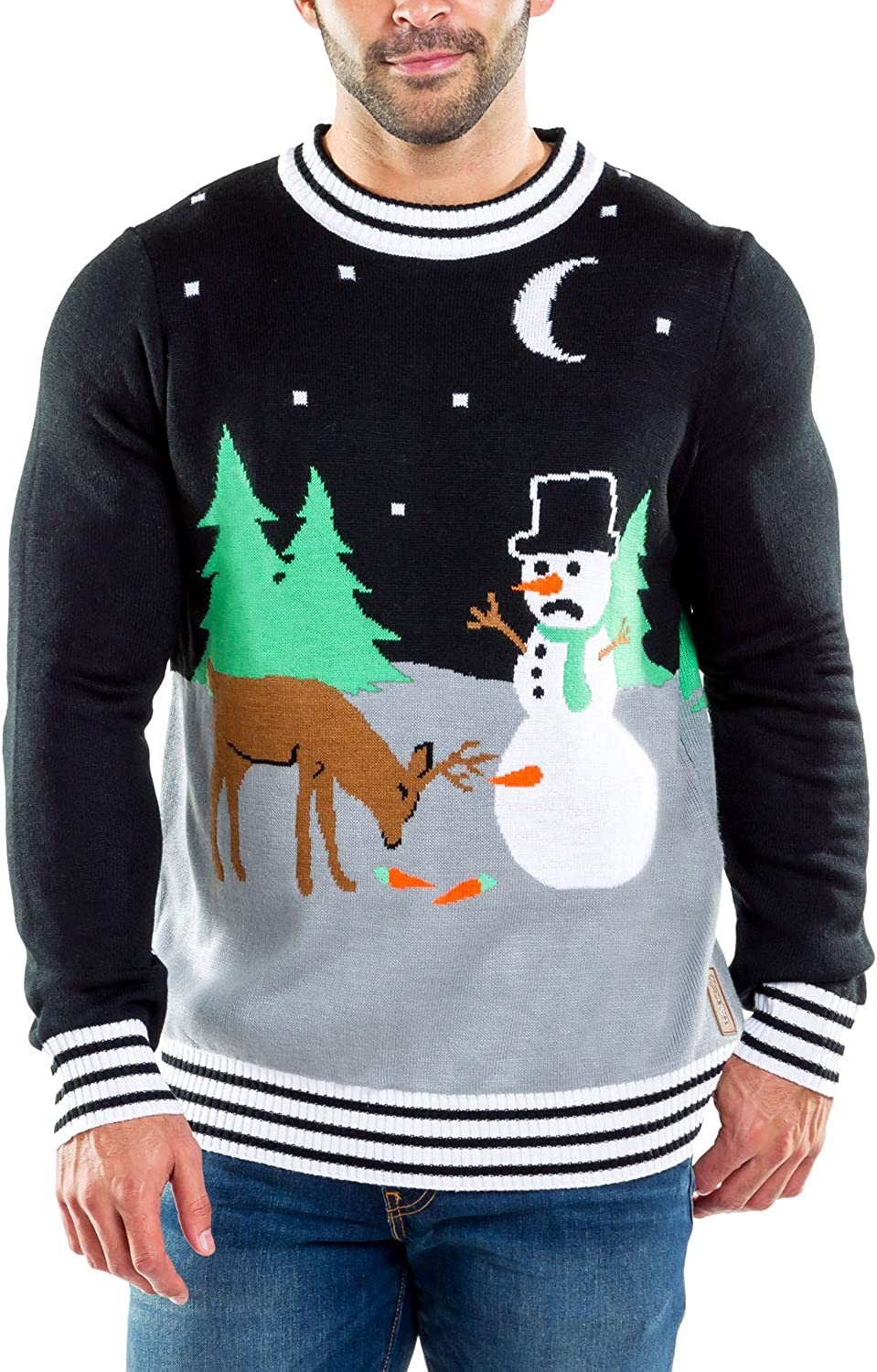 Tipsy Elves Classic Ranking TOP7 Oakland Mall Holiday Characters Ugly Sweaters f Christmas