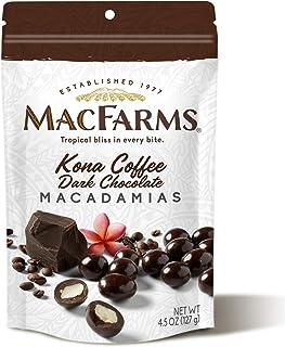 Kona Coffee Dark Chocolate Macadamia Nuts