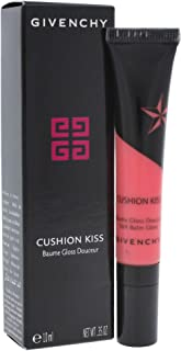 Givenchy Cushion Kiss Soft Balm Gloss, No. 1 Coral Kiss, 0.35 Ounce