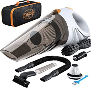 Best Portable Car Vacuum Cleaner: High Power Corded Handheld Vacuum w/ 16 Foot Cable - 12V - Best Car & Auto Accessories Kit for Detailing and Cleaning Car Interior Review