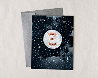 All is Bright Holiday Greeting Card