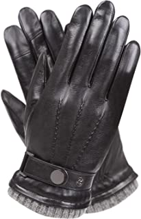 Best mens leather gloves warm Reviews